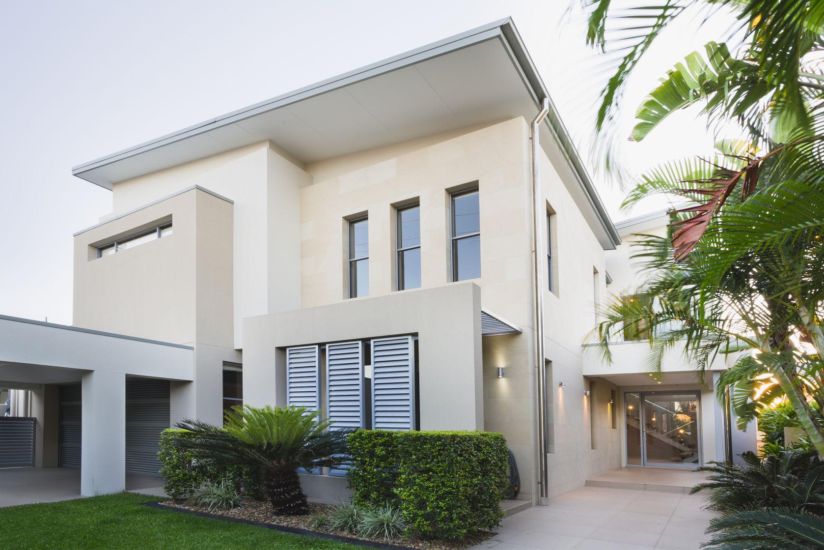 Villa mit Carport